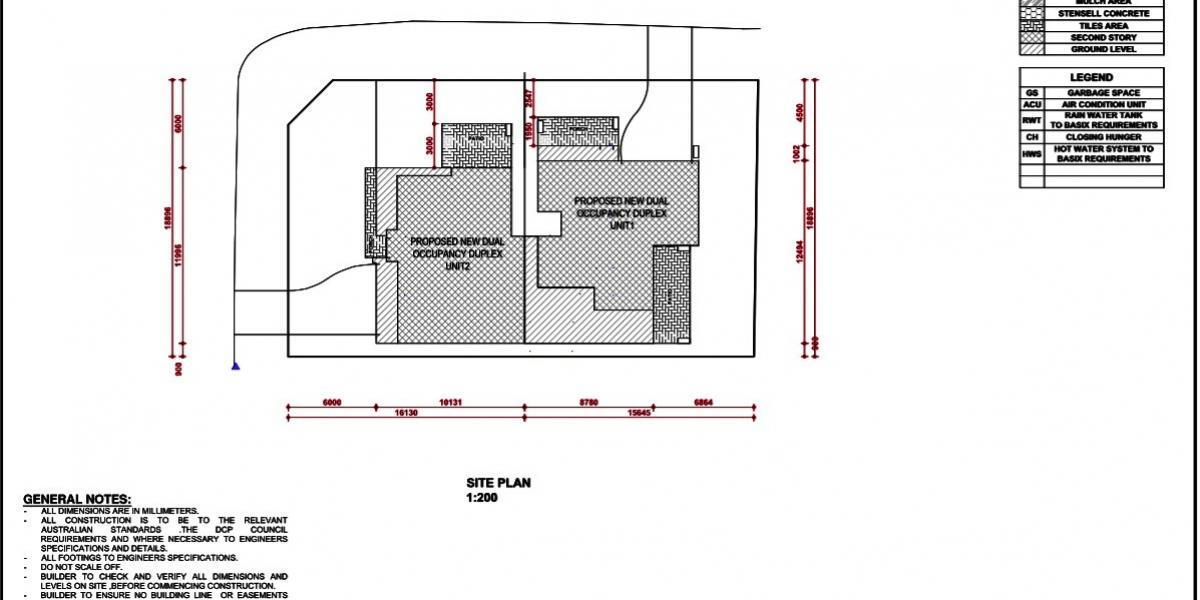 Duplex site (S.T.C.A)