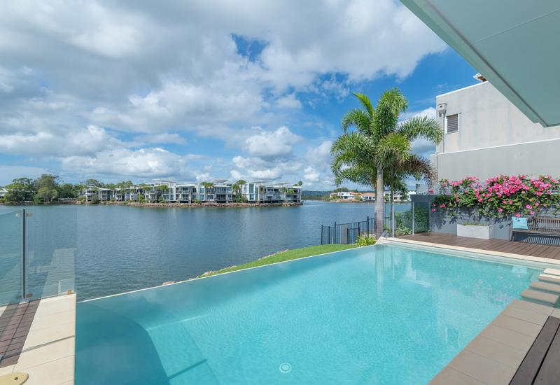 Single Level Elegance with Picture Perfect Water Views
