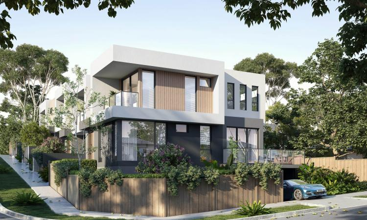 Contemporary styled 4 bedroom Townhouse