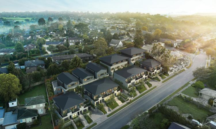 Big choice of townhouses in this mooroolbark project.