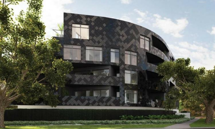 Completed apartments in Malvern East