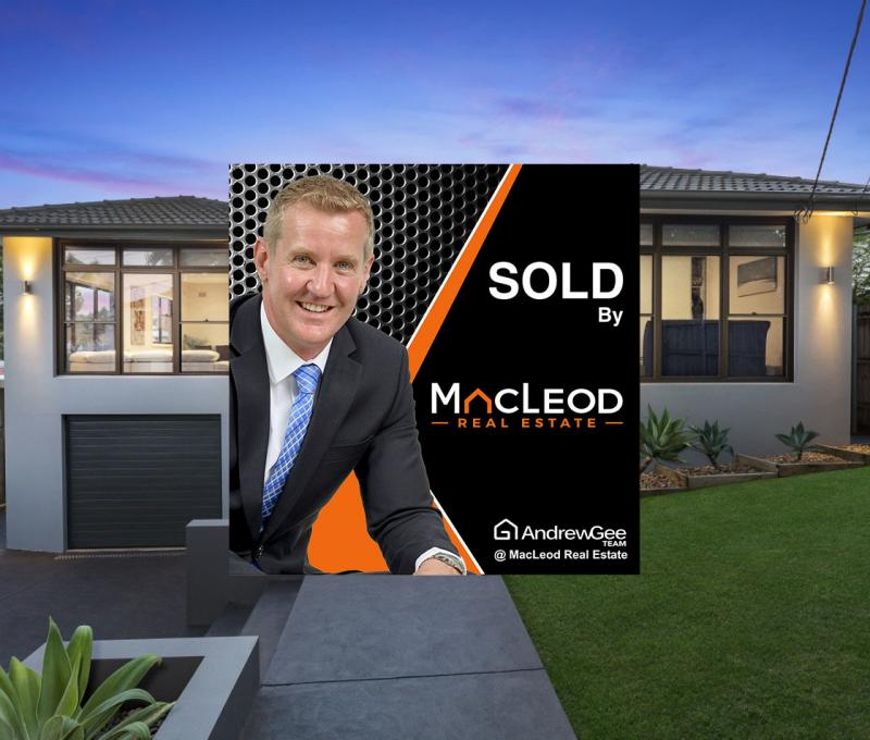 SOLD at Auction by The Andrew Gee Team at MacLeod Real Estate