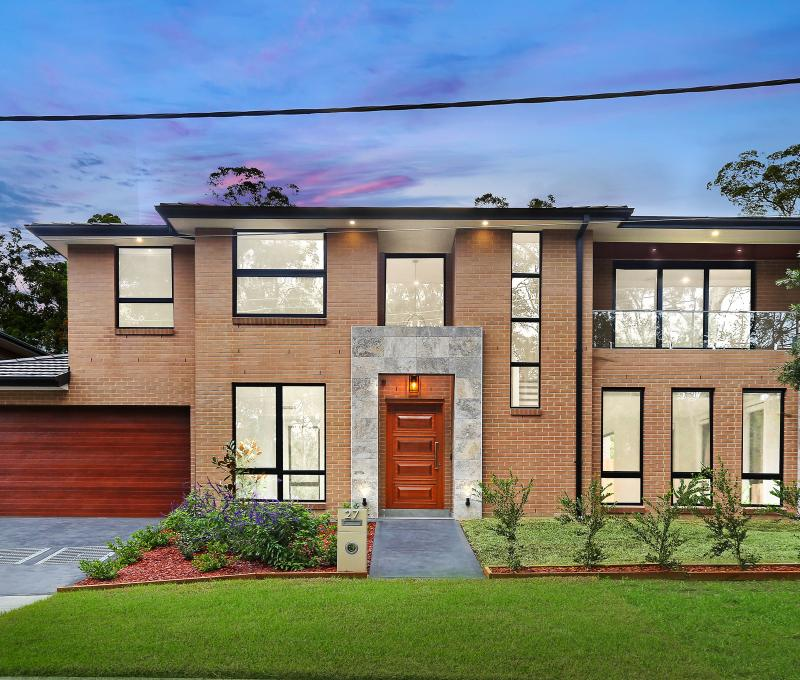 Brand New 5 Bedroom Brick Home With Peaceful Outlook.