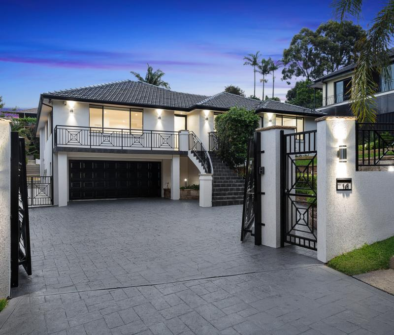 Magnificent 4 Bedroom Double Brick Home in High Position with Views.