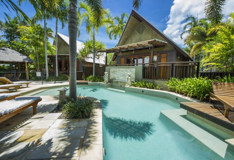 Beautiful Poolside Villa in Popular Small Complex