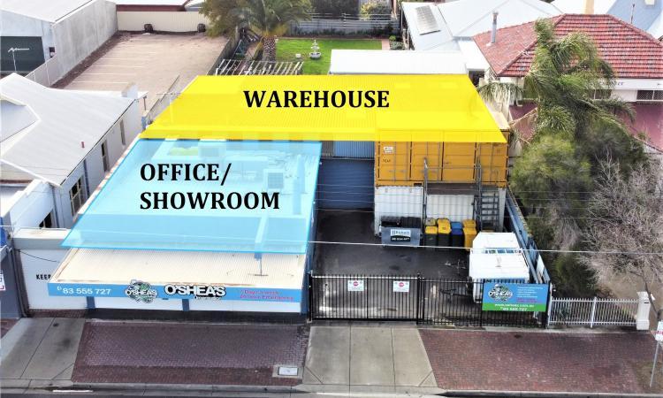 Warehouse/ Showroom/ Office
