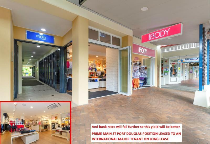 BLUE CHIP Main St Commercial NET RENT $140,352 p.a 7% NET YIELD - 21 MACROSSAN ST, PORT DOUGLAS