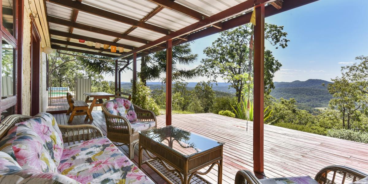 Country Homestead with Exceptional Views On 28 Picturesque Elevated Acres