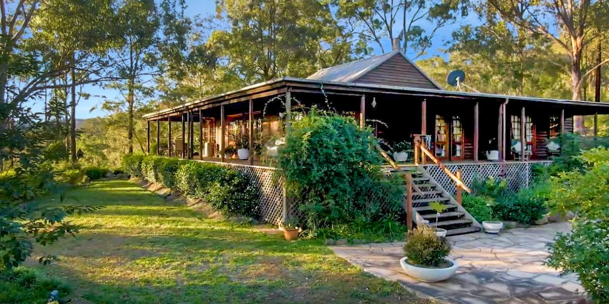 'Yellow Billy' – An Extraordinary Australiana Homestead in the Beautiful Wollombi Valley