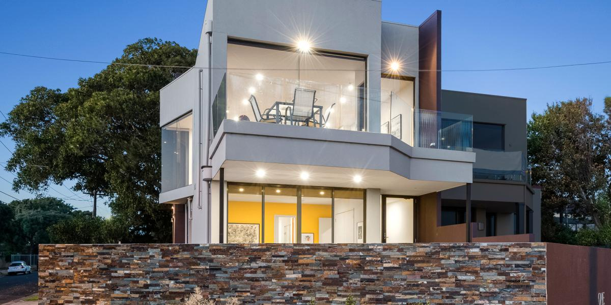 Dazzling, Dual-Aspect Entertainer with Breathtaking, Blue-Water Views