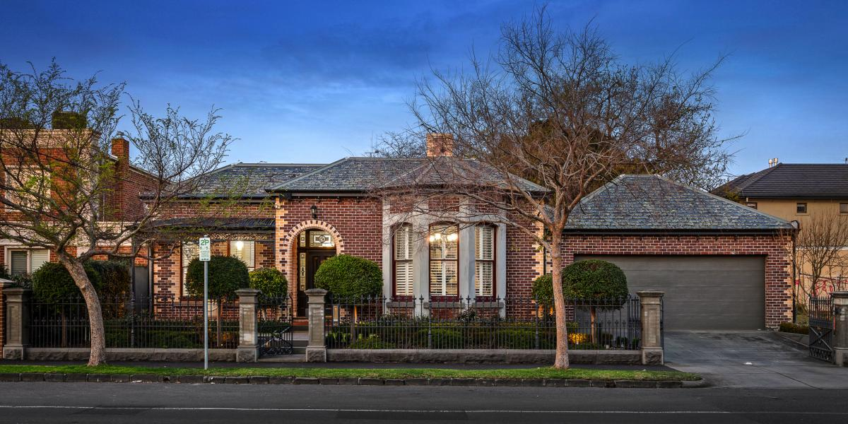 Victorian Integrity with Wide Contemporary Appeal on Large Block