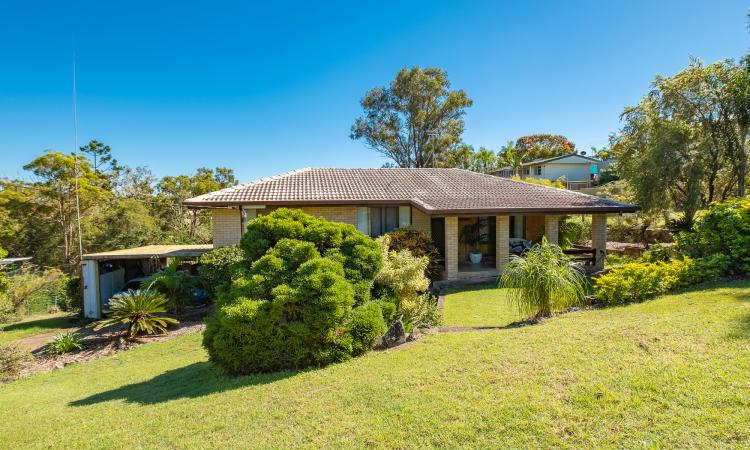 Solid brick home with 5 bedrooms plus an office!