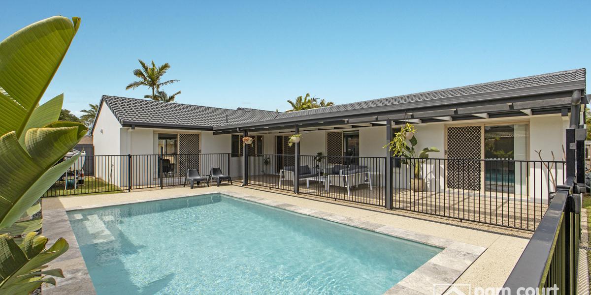 Stylish 4 bedroom home with inground pool!