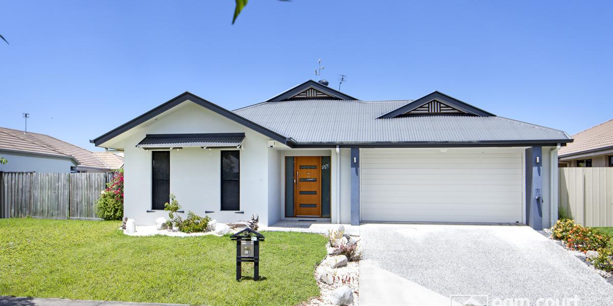 4 Bedroom home on a 600m2 block