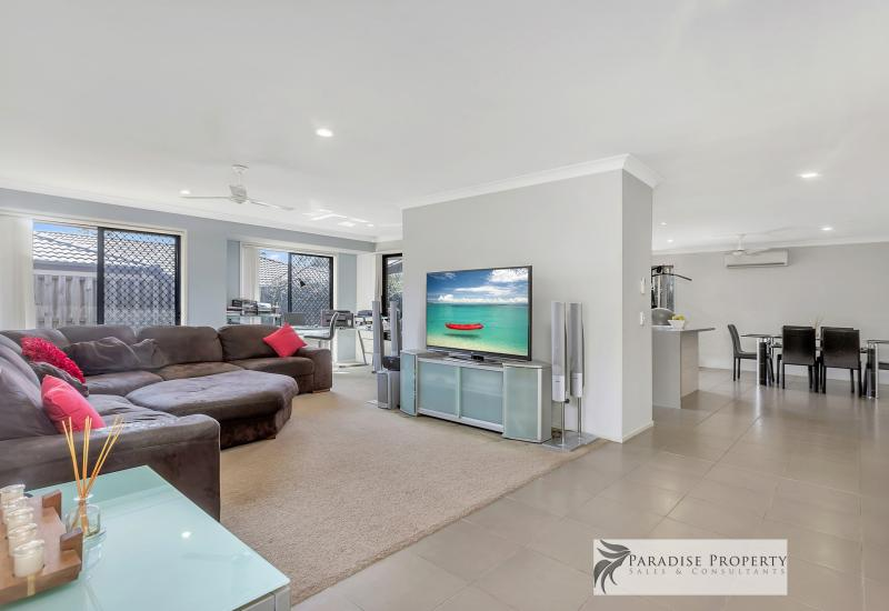 MODERN OPEN PLAN FAMILY LIVING AT ITS BEST WITH TWO BIG LIVING AREAS