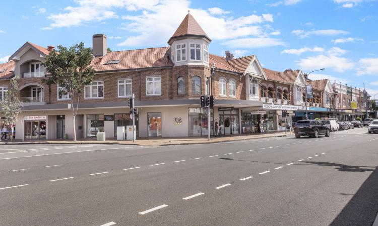 Positioned on a prime corner site of Military Road & Raglan Street