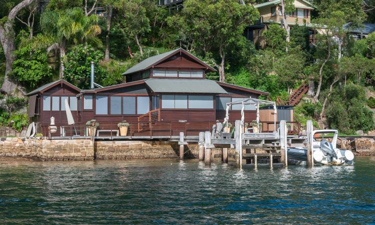 "A Unique Paradise Right on the Edge of Pittwater ""famed by Susan Duncan's novel Salvation Creek"""