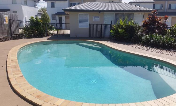 2 bedroom townhouse with pool!