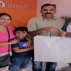 I had a stress-free home buying experience with Arun