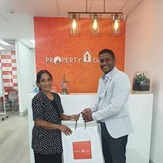 Thank you so much Property1Group and especially Keerthan for helping me purchasing my first home.