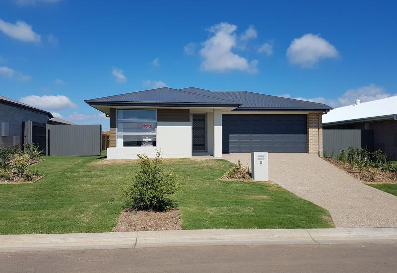 Near new property with huge living space for the family or entertaining.