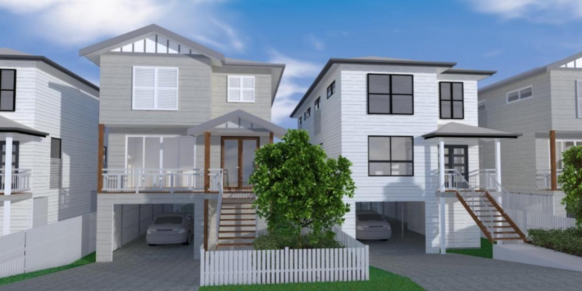 THREE STOREY EXECUTIVE PRE-APPROVED HOME DESIGN