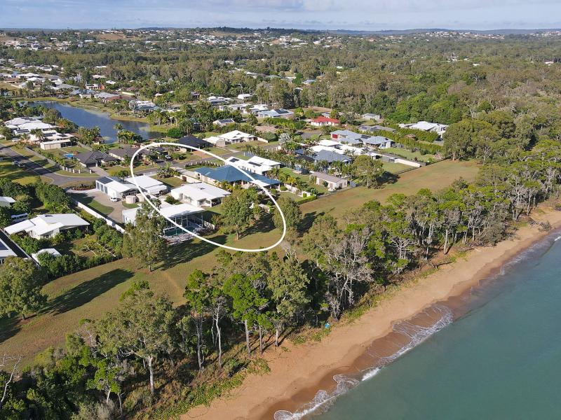 BEACHFRONT - FOOT PRINTS IN THE SAND, THE SOUND OF THE OCEAN, TRANQUILITY, VIEWS, SEPARATE MEDIA ROOM, LARGE OPEN PLAN LIVING, SUPERB COVERED ALFRESCO