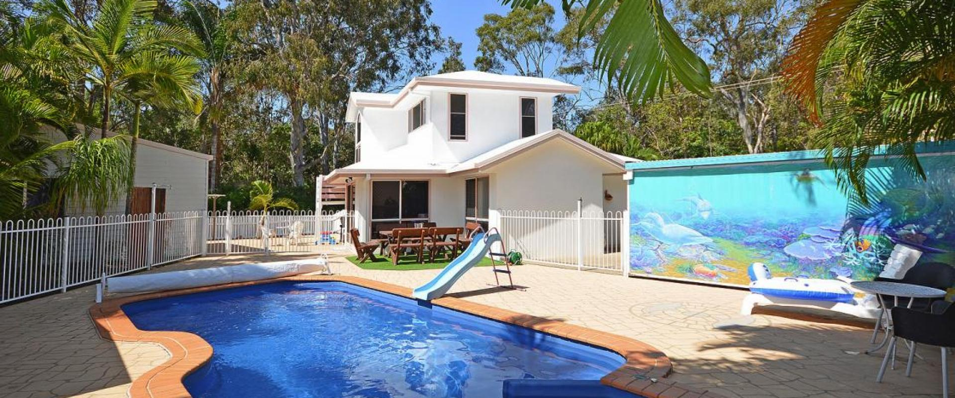 WALK TO THE WATER AND THE BEACH FROM THIS INDIVIDUAL AND SENSATIONAL COASTAL THREE BEDROOM FAMILY HOME, 6 x 6 GUEST ACCOMMODATION OR RELATIVE ANNEXE.