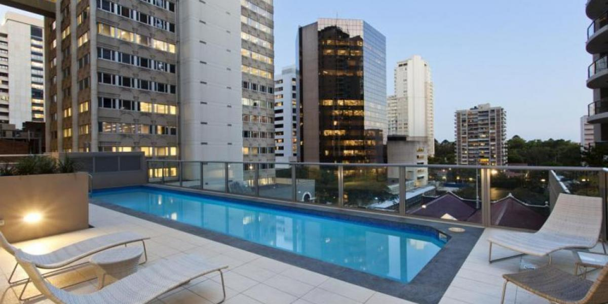 SUPER CENTRAL LOCATION  Fully Furnished with building features of Pool, BBQ Areas, Sauna and Gym + Much More!!