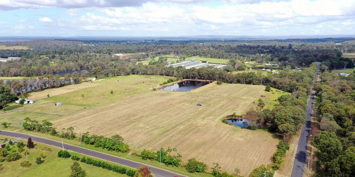ABSOLUTELY PERFECT - 17.49 ACRES - BLUE CHIP POSITION - STUNNING!