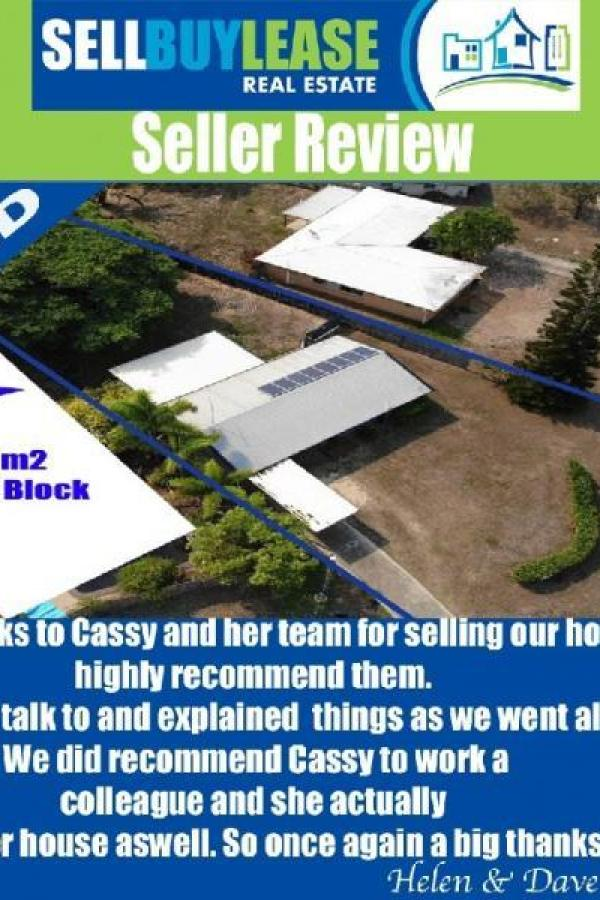 Big Thanks to Cassy & her team for selling our house, highly recommend them. So easy to talk to and explained things as we went along. We recommend Cassy