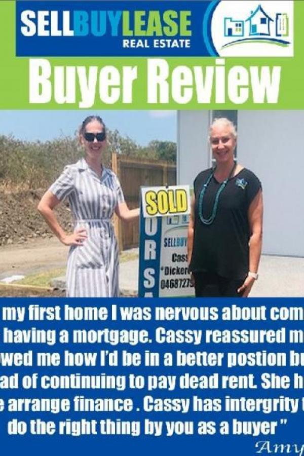 Cassy has intergrity to do the right thing by you as a buyer