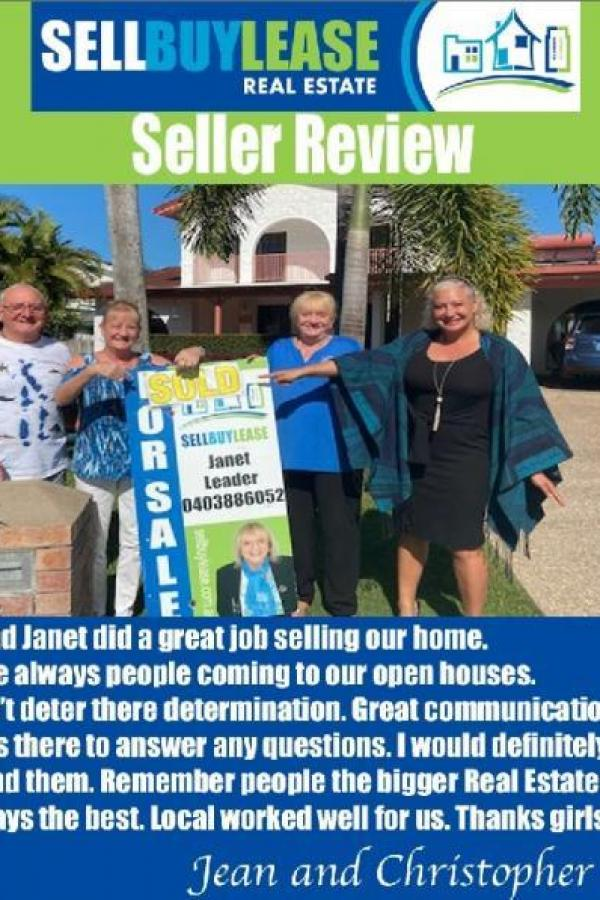 Cassie and Janet did a great job selling our home