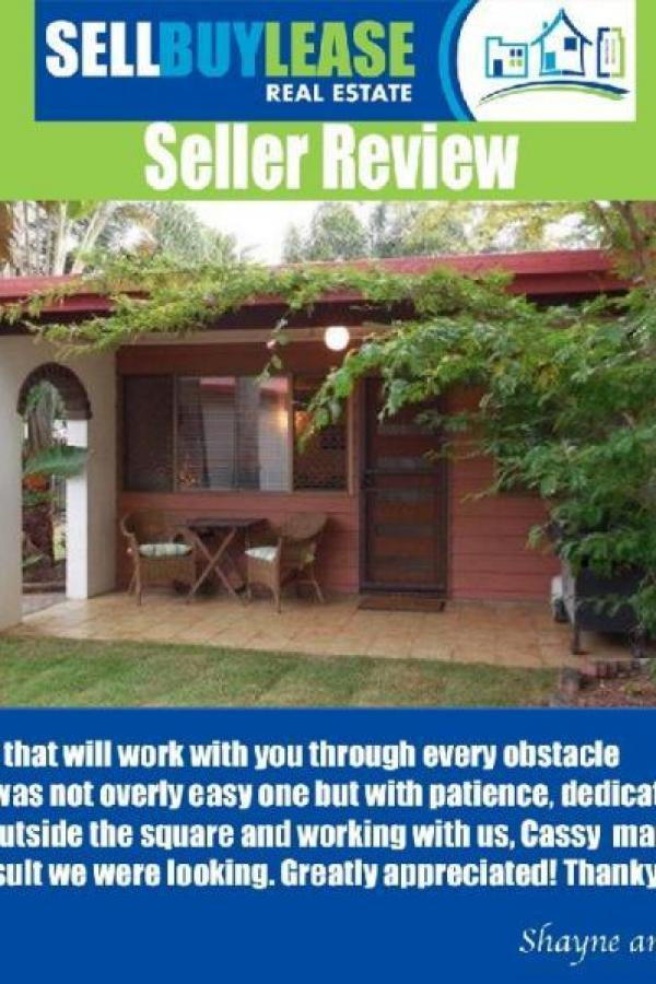 For Cassy Dickerson  An agent that will work with you through every obstacle