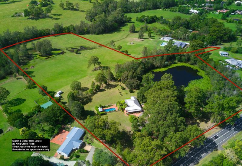 Private, fertile large acres fronting Sarah's Creek within 15mins to Port