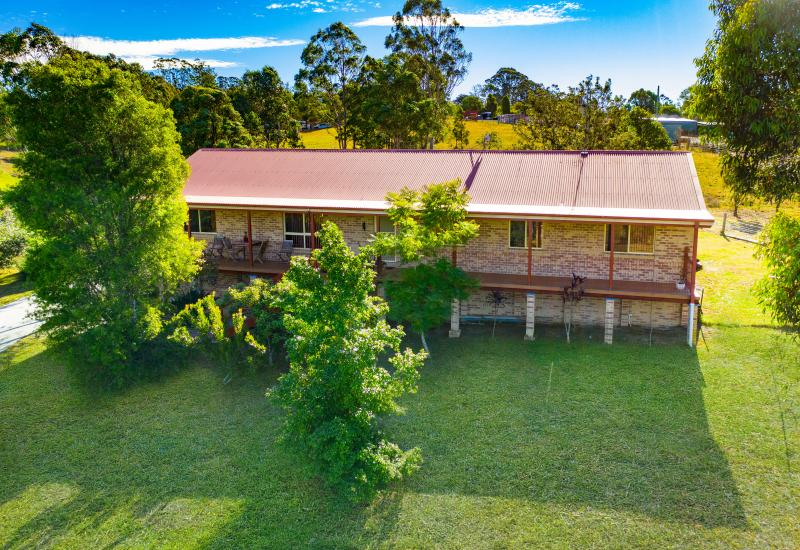 Peaceful acreage lifestyle with views towards Bago Bluff