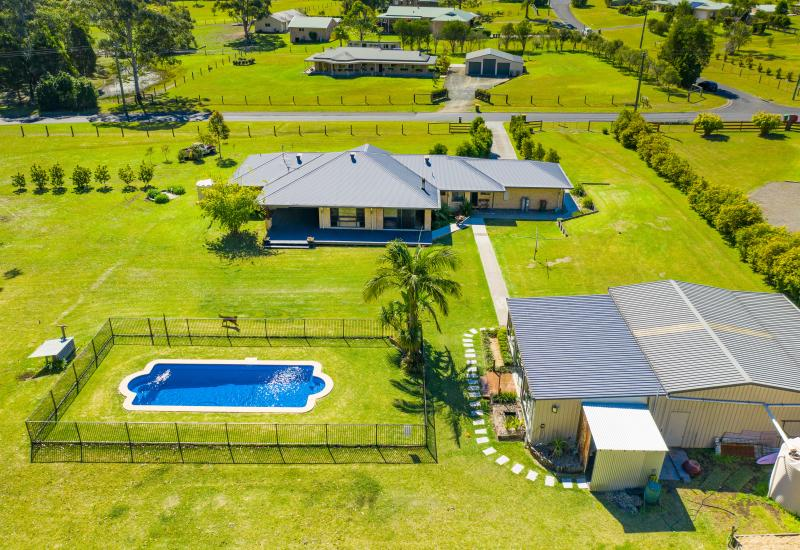 Complete family acreage living package