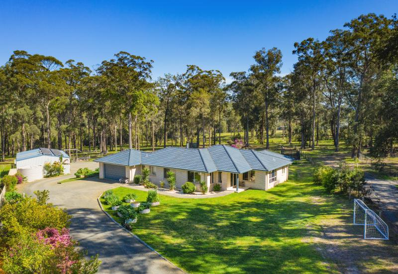Outstanding value on four private acres