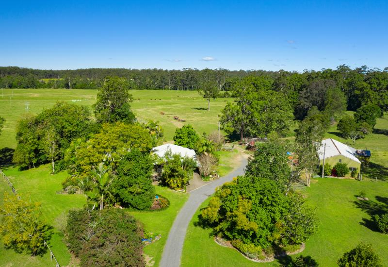 Productive acreage property with absolute riverfront
