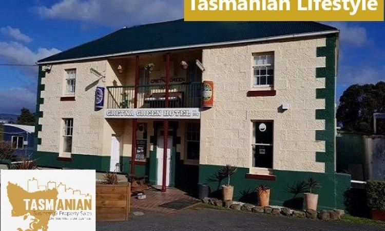 Historic FGHC Tasmanian Hotel,Income Home & Lifestyle Adj Net $95K o/o $590,000 Sav