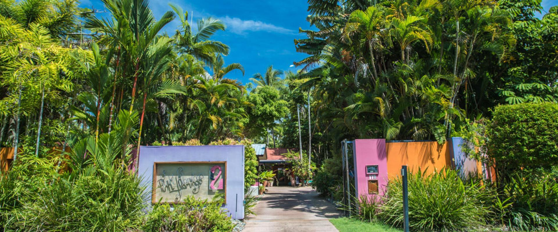 Pink Real Estate Port Douglas Flamingo Intimate And Private Resort Hotel In