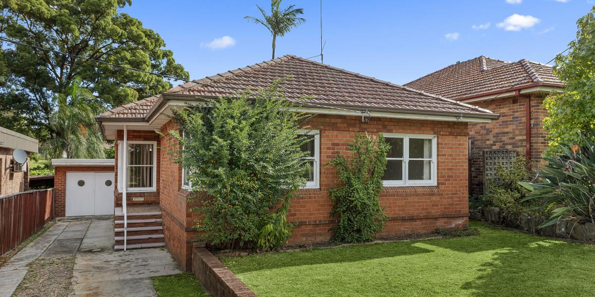 Affordable solid brick family home