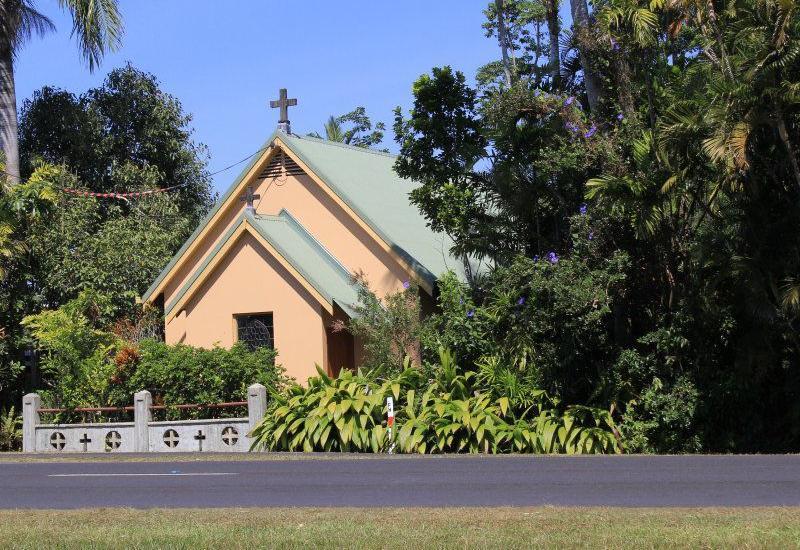 Converted Church in Rainforest Setting !