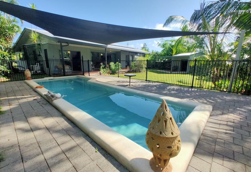 Privately Positioned with a Pool !