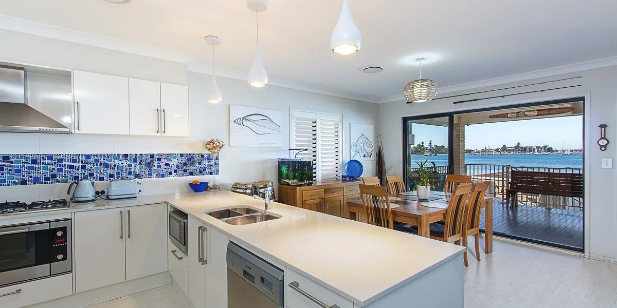 Modern Waterfront Living in Central Belmont