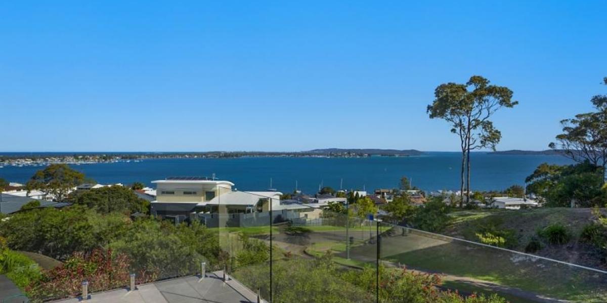 Glorious lake and ocean views!