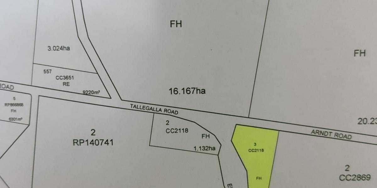 RURAL LAND AUCTION - TALLEGALLA - QLD