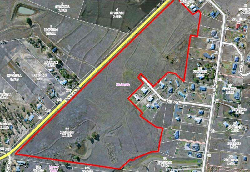 Great Potential, 55 Acres Close to CBD